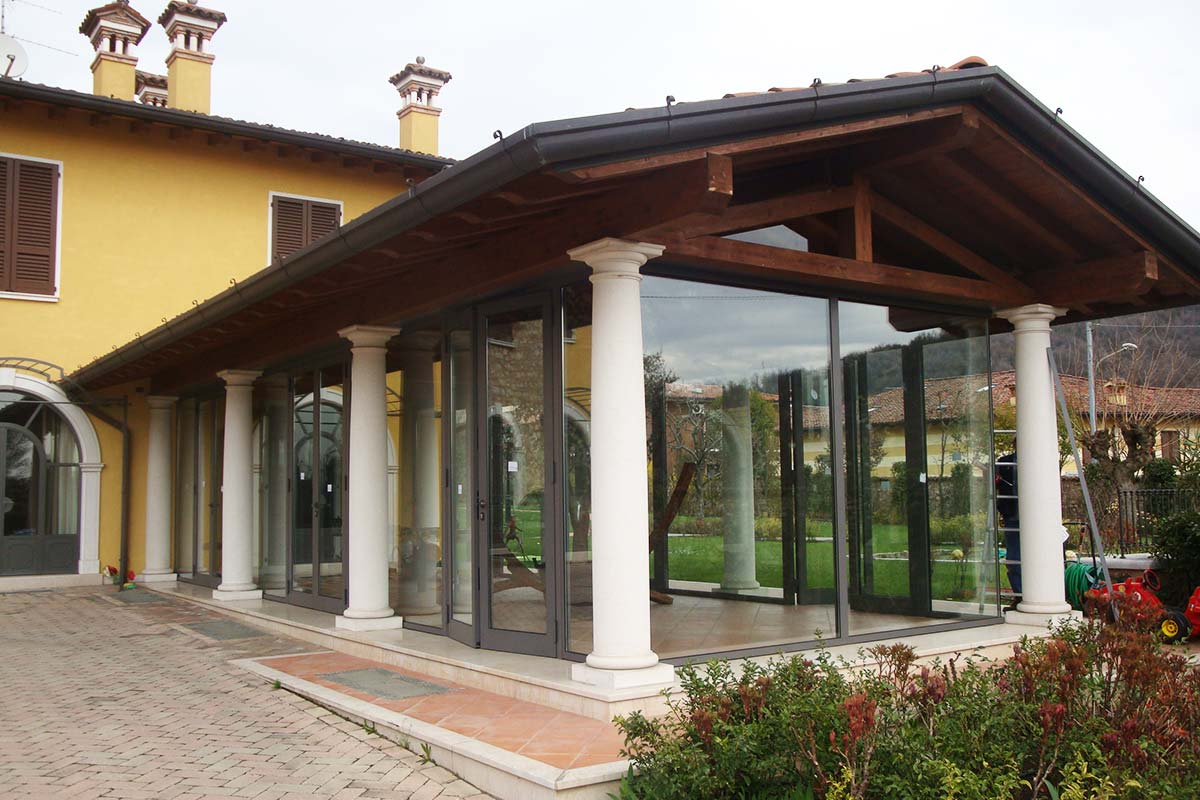 Verande e gazebi for Giardini e verande